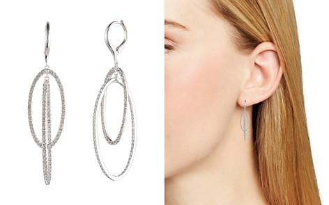 Lauren Ralph Lauren Pavé Orbital Drop Earrings - Bloomingdale's_2