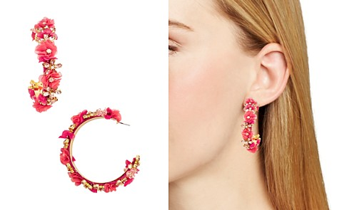 BAUBLEBAR Esme Floral Hoop Earrings - Bloomingdale's_2