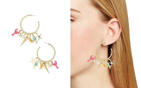 BAUBLEBAR Under Sea Charm Hoop Earrings - Bloomingdale's_2