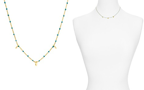 "Argento Vivo Enamel & Disc Necklace, 14"" - Bloomingdale's_2"
