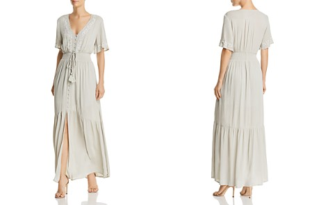 Lost + Wander Athena Embroidered Tie-Detail Maxi Dress - Bloomingdale's_2