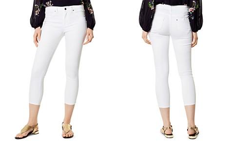 KAREN MILLEN Cropped Skinny Jeans in White - Bloomingdale's_2
