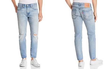 Levi's Hi-Ball Roller Destroyed Tapered Fit Jeans in Swing Man - Bloomingdale's_2