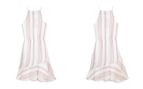 AQUA Girls' Striped Dress, Big Kid - 100% Exclusive - Bloomingdale's_2