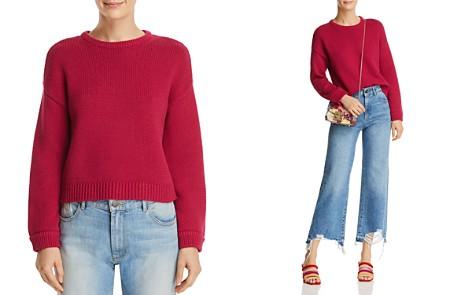 Alice + Olivia Leena Cropped Sweater - Bloomingdale's_2