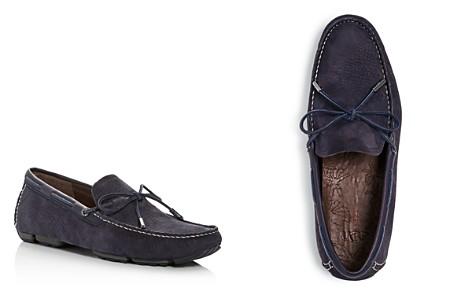 UGG® Men's Bel-Air Nubuck Leather Moc Toe Loafers - Bloomingdale's_2