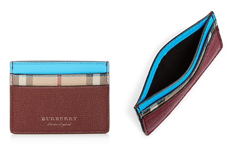 Burberry Sandon Neon Accent Leather Card Case - Bloomingdale's_2