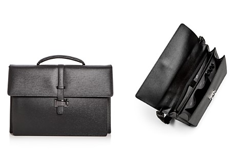 Montblanc Double Gusset Embossed Leather Briefcase - Bloomingdale's_2