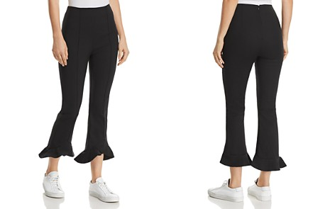C/MEO Collective Forgive Ruffle-Hem Cropped Pants - Bloomingdale's_2