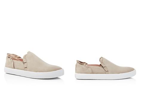 kate spade new york Women's Lilly Suede Ruffle Slip-On Sneakers - Bloomingdale's_2