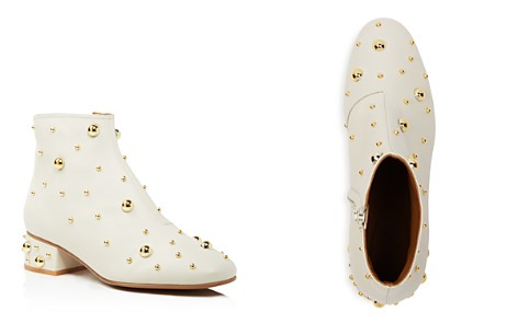 See by Chloé Women's Studded Leather Block Heel Booties - Bloomingdale's_2