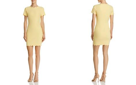 LIKELY Manhattan Scalloped Mini Sheath Dress - Bloomingdale's_2