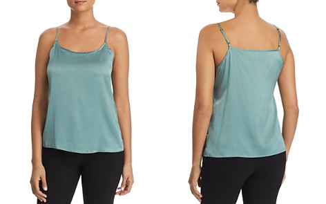 Eileen Fisher Ruched Front Cami - Bloomingdale's_2