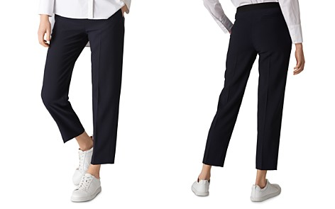 Whistles Anna Crop Pants - Bloomingdale's_2