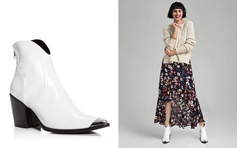 AQUA Women's Pose Pointed-Toe Leather Mid-Heel Booties - 100% Exclusive - Bloomingdale's_2