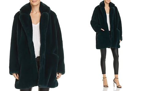 Apparis Sophie Faux Fur Coat - Bloomingdale's_2
