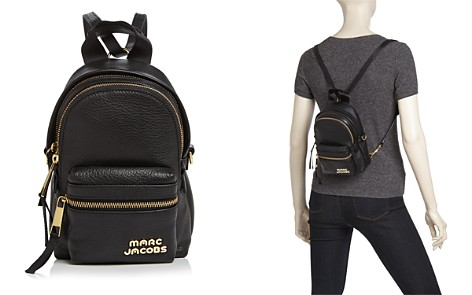 MARC JACOBS Micro Leather Backpack - Bloomingdale's_2