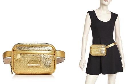MARC JACOBS Sport Metallic Leather Belt Bag - Bloomingdale's_2