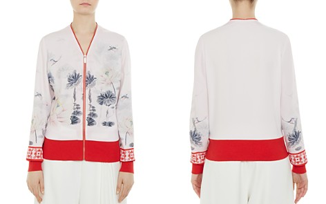 Ted Baker Illian Lake of Dreams Bomber Jacket - Bloomingdale's_2