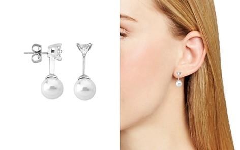 Majorica Simulated Pearl Drop Earrings - Bloomingdale's_2