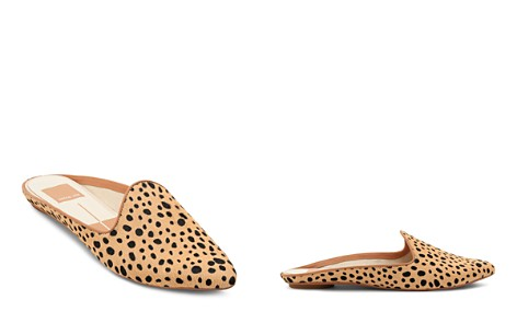 Dolce Vita Women's Grant Leopard Print Calf Hair Mules - Bloomingdale's_2