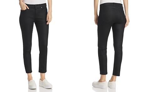 Eileen Fisher Coated Slim Ankle Jeans in Black - Bloomingdale's_2