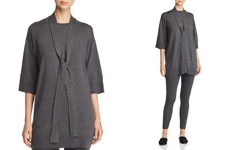 Eileen Fisher Self-Tie Sash Tunic Sweater - Bloomingdale's_2