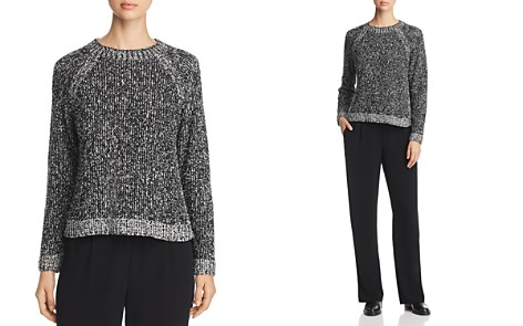 Eileen Fisher Mélange Knit Organic Cotton Sweater - Bloomingdale's_2