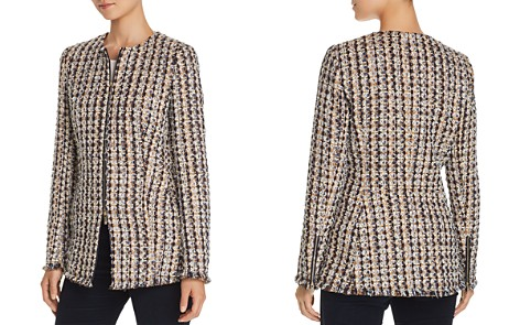 Lafayette 148 New York Landon Metallic Tweed Jacket - Bloomingdale's_2