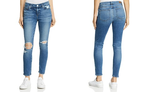 PAIGE Verdugo Ankle Skinny Jeans in Embarcadero Destructed - Bloomingdale's_2