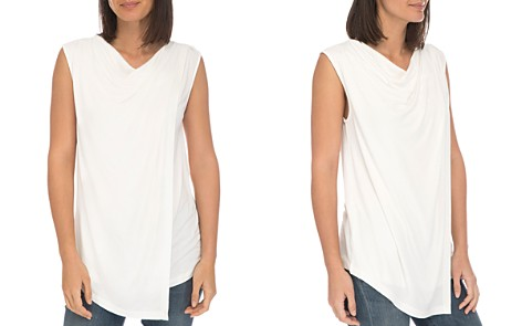 B Collection by Bobeau Nevaeh Cowl Overlay Tank - Bloomingdale's_2