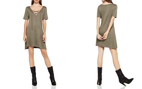 BCBGeneration Lace-Up A-Line Dress - Bloomingdale's_2