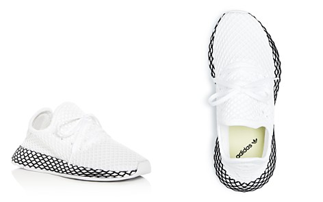 Adidas Girls' Deerupt Net Lace Up Sneakers - Little Kid - Bloomingdale's_2