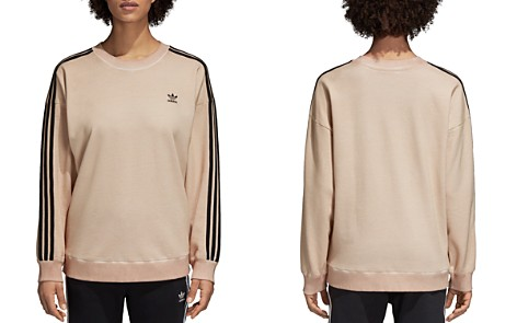 adidas Originals Three Stripe Sweatshirt - Bloomingdale's_2