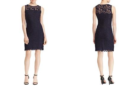 Lauren Ralph Lauren Petites Floral Lace Dress - Bloomingdale's_2