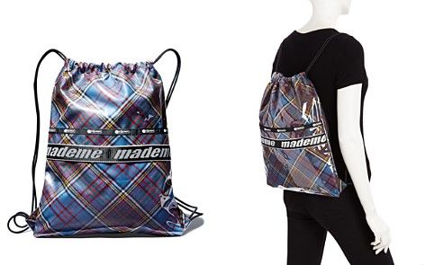 LeSportsac x Made Me Plaid Fabric Drawstring Backpack - Bloomingdale's_2