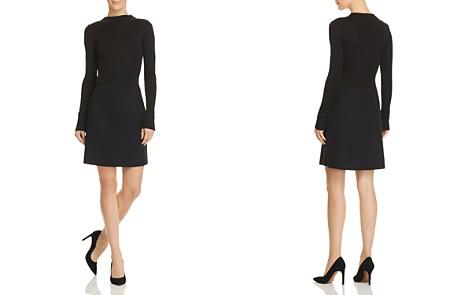 Theory Mock Mini Combo Dress - Bloomingdale's_2