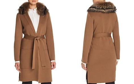 Kobi Halperin Addie Fur-Collar Wrap Cardigan - Bloomingdale's_2