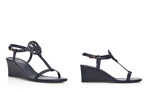 Tory Burch Women's Miller Leather Wedge Sandals - Bloomingdale's_2