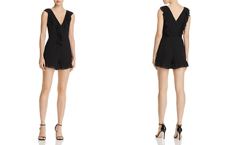 C/MEO Collective Elude Ruffled Romper - 100% Exclusive - Bloomingdale's_2