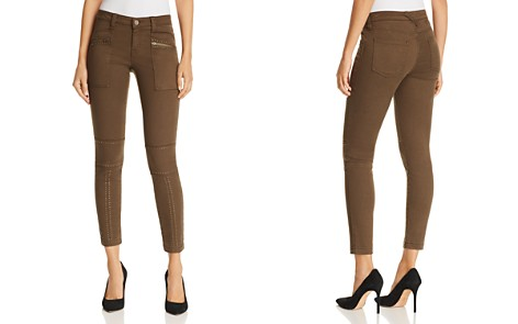 Joie Hazina Studded Skinny Jeans in Fatigue - Bloomingdale's_2