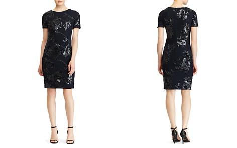 Lauren Ralph Lauren Sequined Floral Dress - Bloomingdale's_2