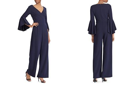Lauren Ralph Lauren Bell-Sleeve Crepe Jumpsuit - Bloomingdale's_2