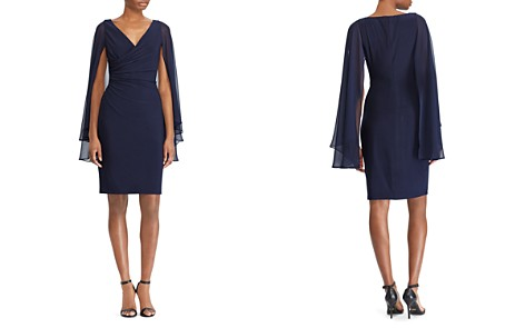 Lauren Ralph Lauren Slit-Sleeve Jersey Dress - Bloomingdale's_2