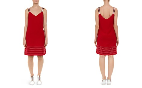 Ted Baker Colour By Numbers Lanchal Stitch-Detail Dress - Bloomingdale's_2