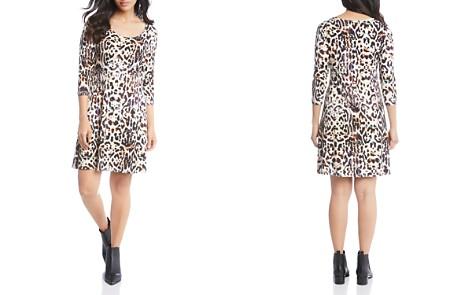 Karen Kane Abstract Animal-Print Shift Dress - Bloomingdale's_2