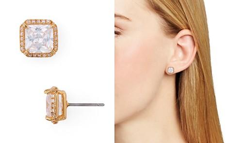 kate spade new york Pavé & Faceted Stone Stud Earrings - Bloomingdale's_2