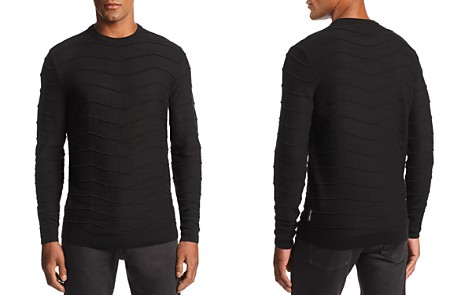 Emporio Armani Zig-Zag Ribbed Pullover Sweater - Bloomingdale's_2
