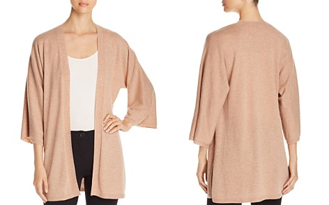 Eileen Fisher Cashmere Open Kimono Cardigan - Bloomingdale's_2