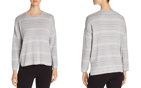 Eileen Fisher Striped Organic Cotton Sweater - Bloomingdale's_2